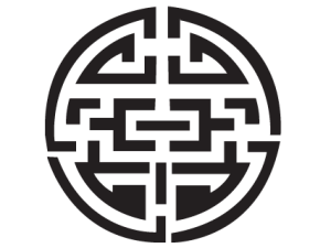 stickers-symbole-rond-asiatique-img1